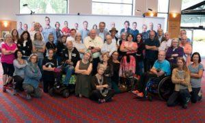 Un gruppo di Persone con Parkinson interveute al WPC 2016